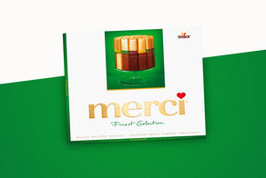 merci 2013: More choice for lovers of crunchy chocolate